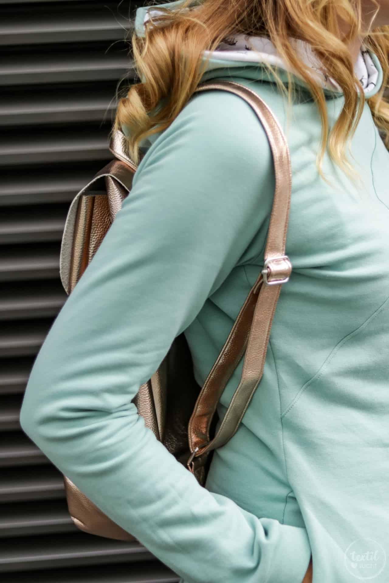 Aus meiner Herbstkollektion: Schnittmuster Sweater und Rucksack - Bild 5   textilsucht.de