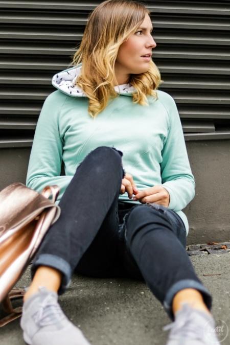 Schnittmuster Sweater Kuschelwarm + Rucksack Easy Day Bag