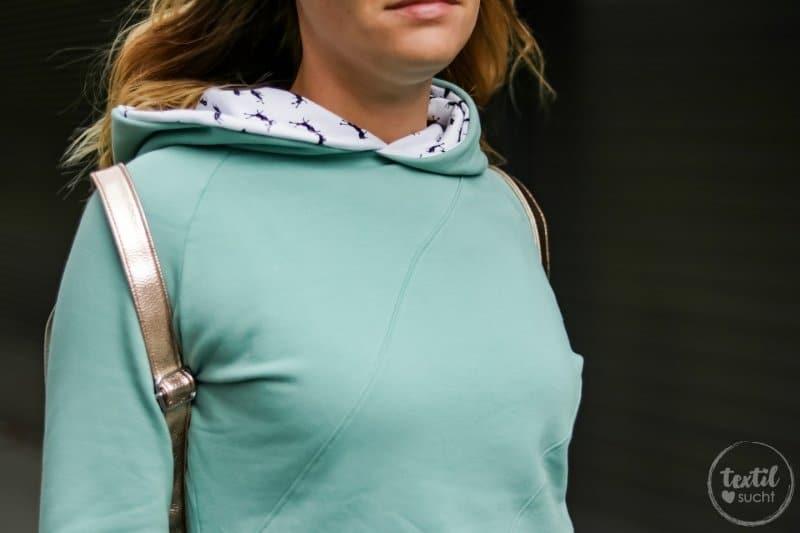 Aus meiner Herbstkollektion: Schnittmuster Sweater und Rucksack - Bild 3 | textilsucht.de