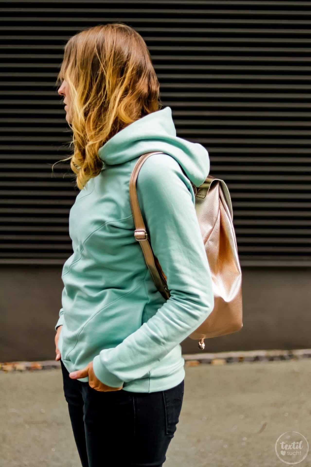 Aus meiner Herbstkollektion: Schnittmuster Sweater und Rucksack - Bild 8   textilsucht.de
