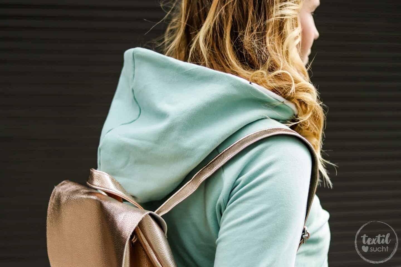 Aus meiner Herbstkollektion: Sweater und Rucksack