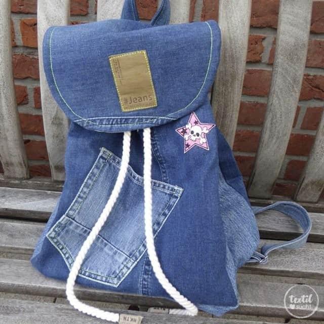 schnittmuster rucksack easy day bag inkl n hanleitung textilsucht. Black Bedroom Furniture Sets. Home Design Ideas