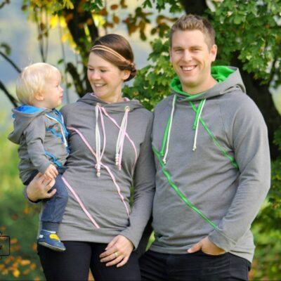 Schnittmuster Sweater Kuschelwarm für die ganze Familie