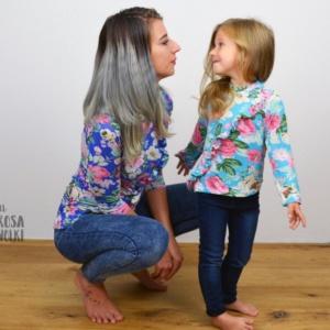 KombiEbook Schnittmuster Rüschenshirt für Damen und Kinder 515802_o
