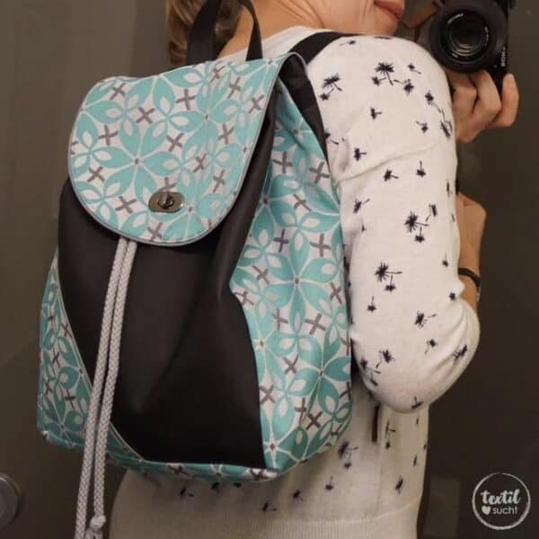 Schnittmuster Rucksack - Easy Day Bag - inkl. Nähanleitung - Bild 2