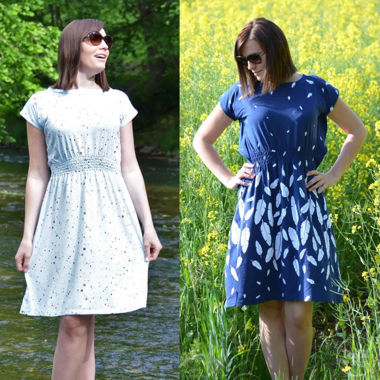 Nähanleitung und Schnittmuster Kleid Federleicht | textilsucht