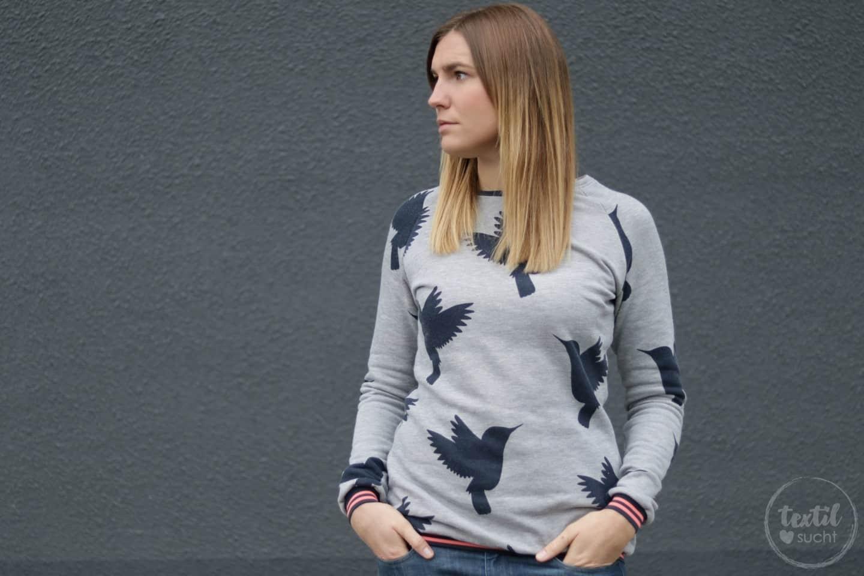 Stoffverliebt! Mein Kolibri Sweater.