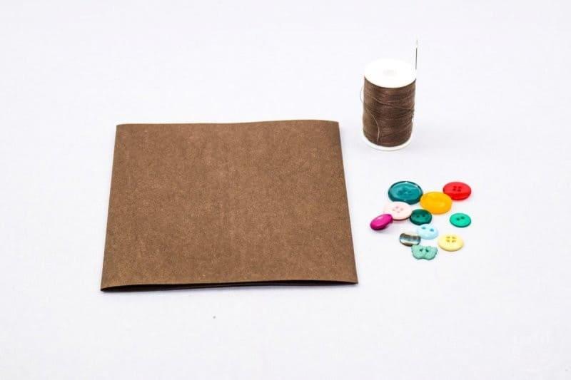 DIY Karte basteln mit Base Rosé von Schneider - Schritt 1 | textilsucht.de