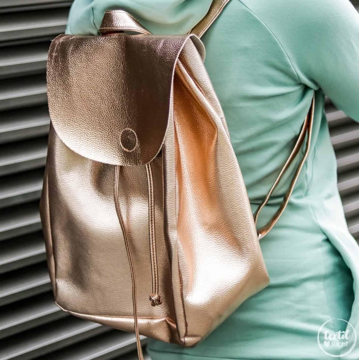 Schnittmuster Rucksack - Easy Day Bag - inkl. Nähanleitung ...