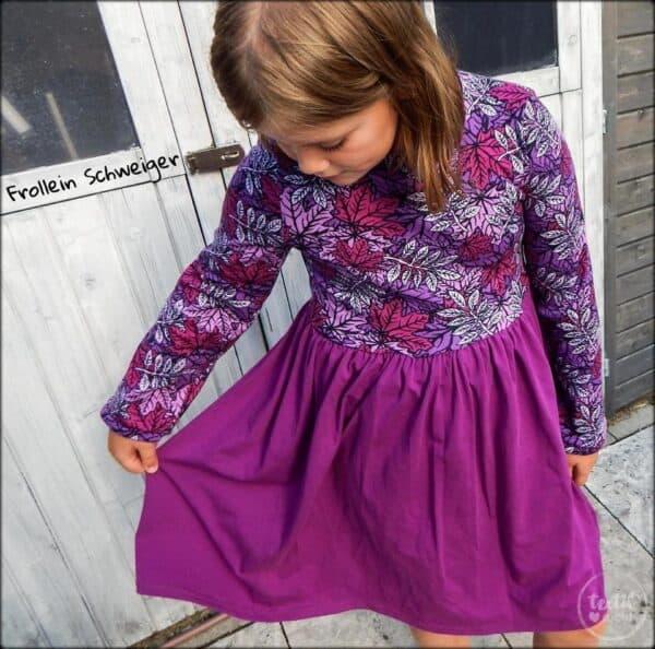 Schnittmuster Kinderkleid Kelani – inkl. Nähanleitung