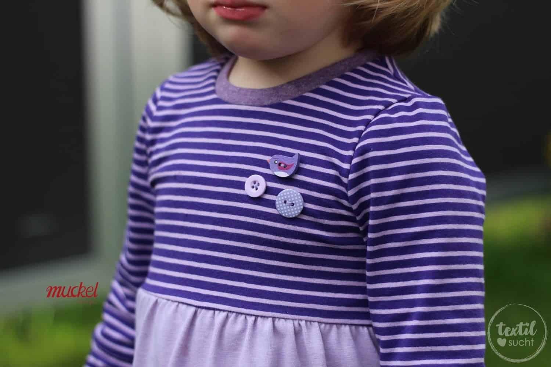 Schnittmuster Kinderkleid Kelani - inkl. Nähanleitung » Textilsucht®