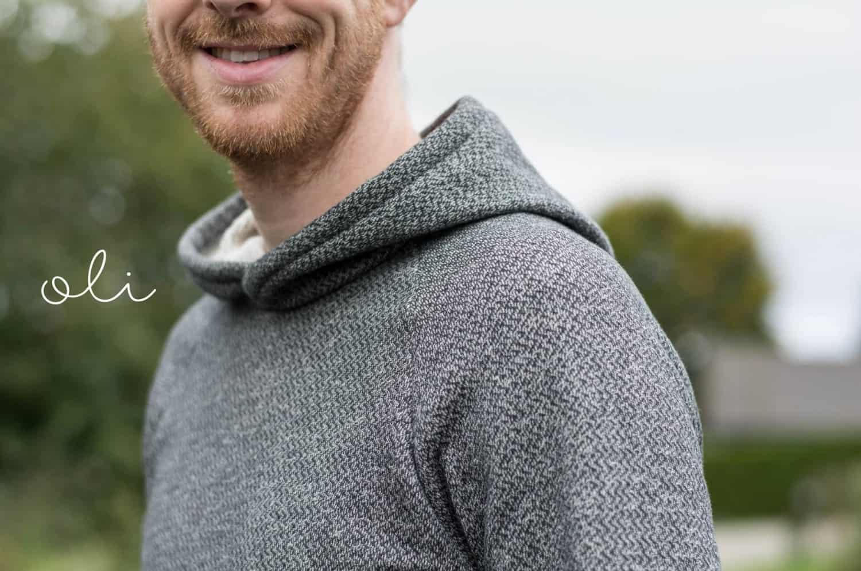 Schnittmuster Sweater Herren - inkl. Nähanleitung » Textilsucht®