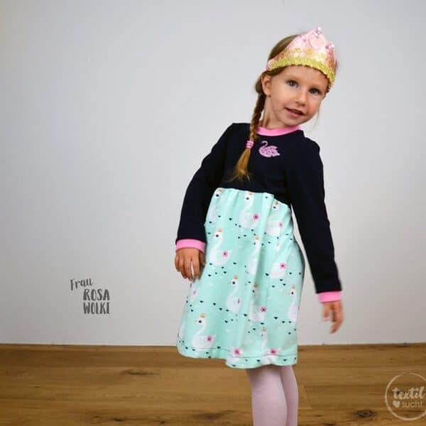Schnittmuster Kinderkleid Kelani - inkl. Nähanleitung