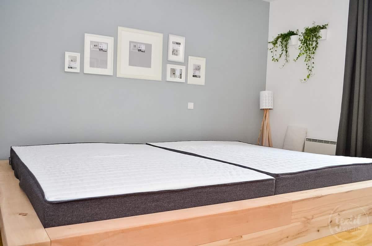 Bauanleitung diy familienbett selber bauen textilsucht for Bett 2m breit