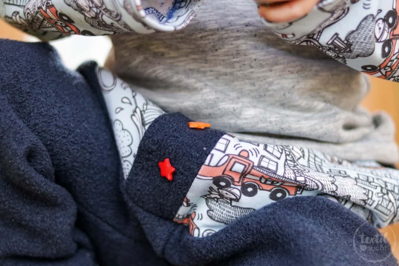 Kinderoutfit aus Walkhose und Sweater nähen - Bild 4 – textilsucht.de