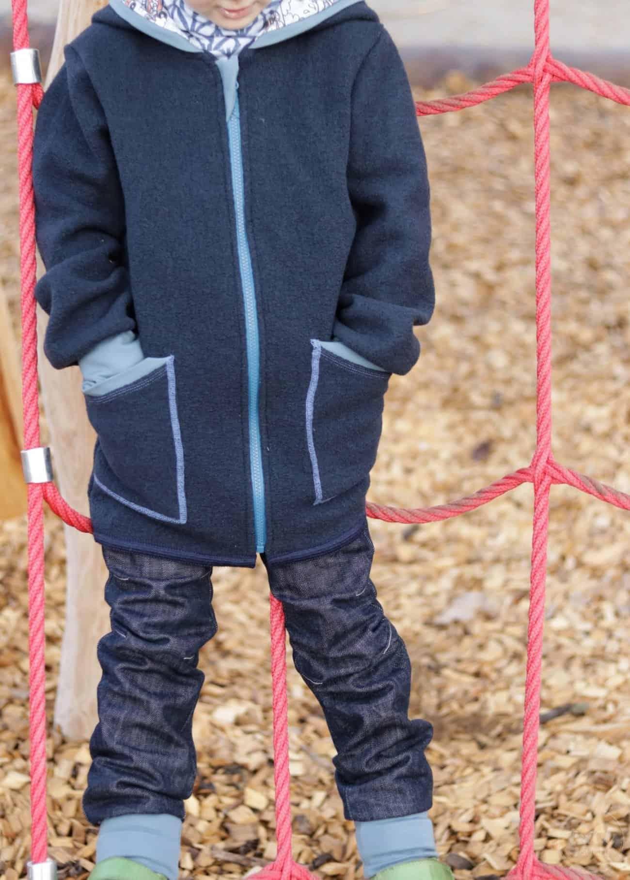 Perfekt für den Winter: Eine Jacke aus Wollwalk - Bild 7 | textilsucht.de