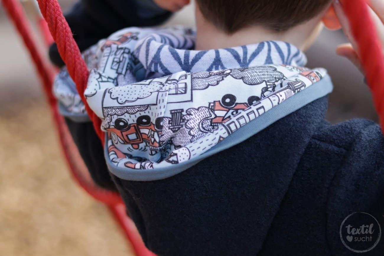 Perfekt für den Winter: Eine Jacke aus Wollwalk - Bild 8 | textilsucht.de