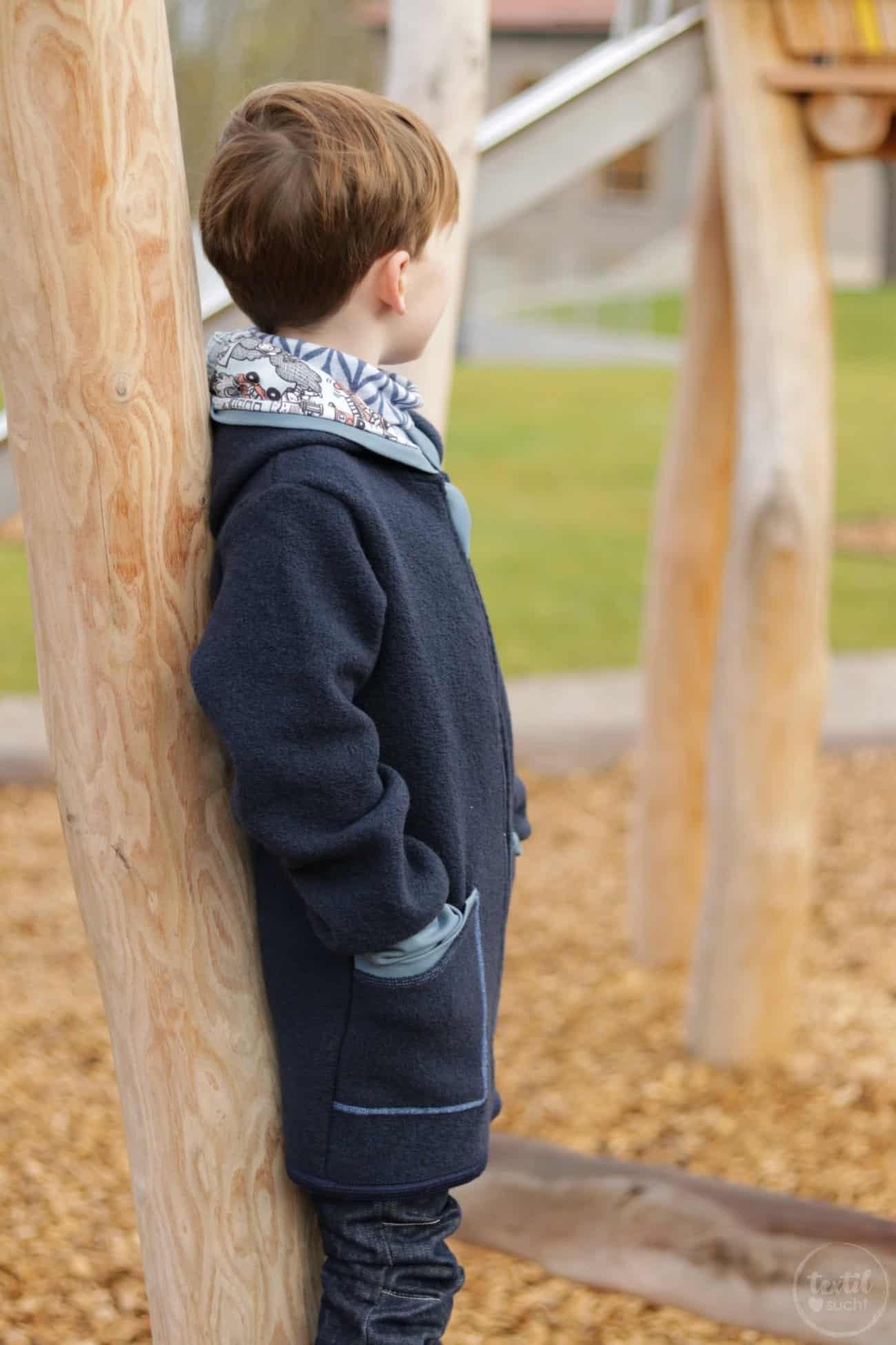 Perfekt für den Winter: Eine Jacke aus Wollwalk - Bild 1 | textilsucht.de