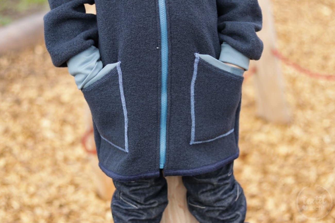 Perfekt für den Winter: Eine Jacke aus Wollwalk - Bild 3 | textilsucht.de