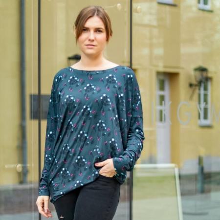 Schnittmuster Oversizeshirt Lesja - Schnitt für ein Damenshirt von textilsucht