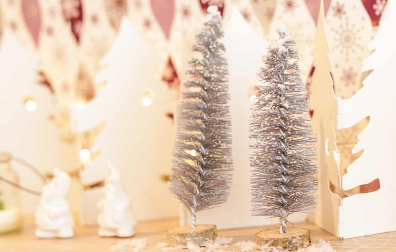 DIY Weihnachtsbaum aus Flaschenbürsten - Titelbild   textilsucht.de