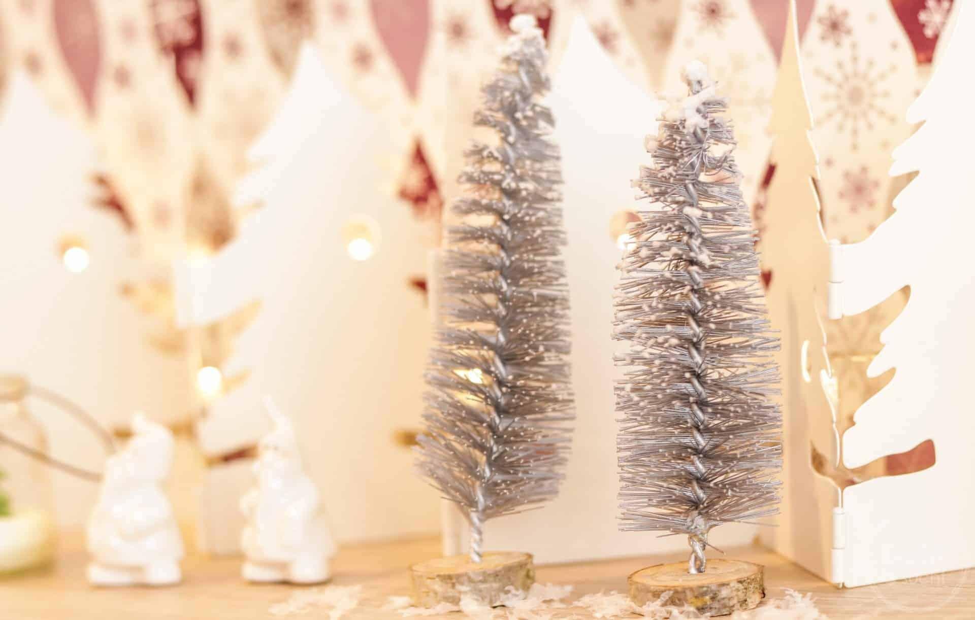 DIY Weihnachtsbaum aus Flaschenbürsten - Titelbild | textilsucht.de