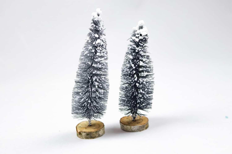 DIY Weihnachtsbaum aus Flaschenbürsten - Schritt 5   textilsucht.de