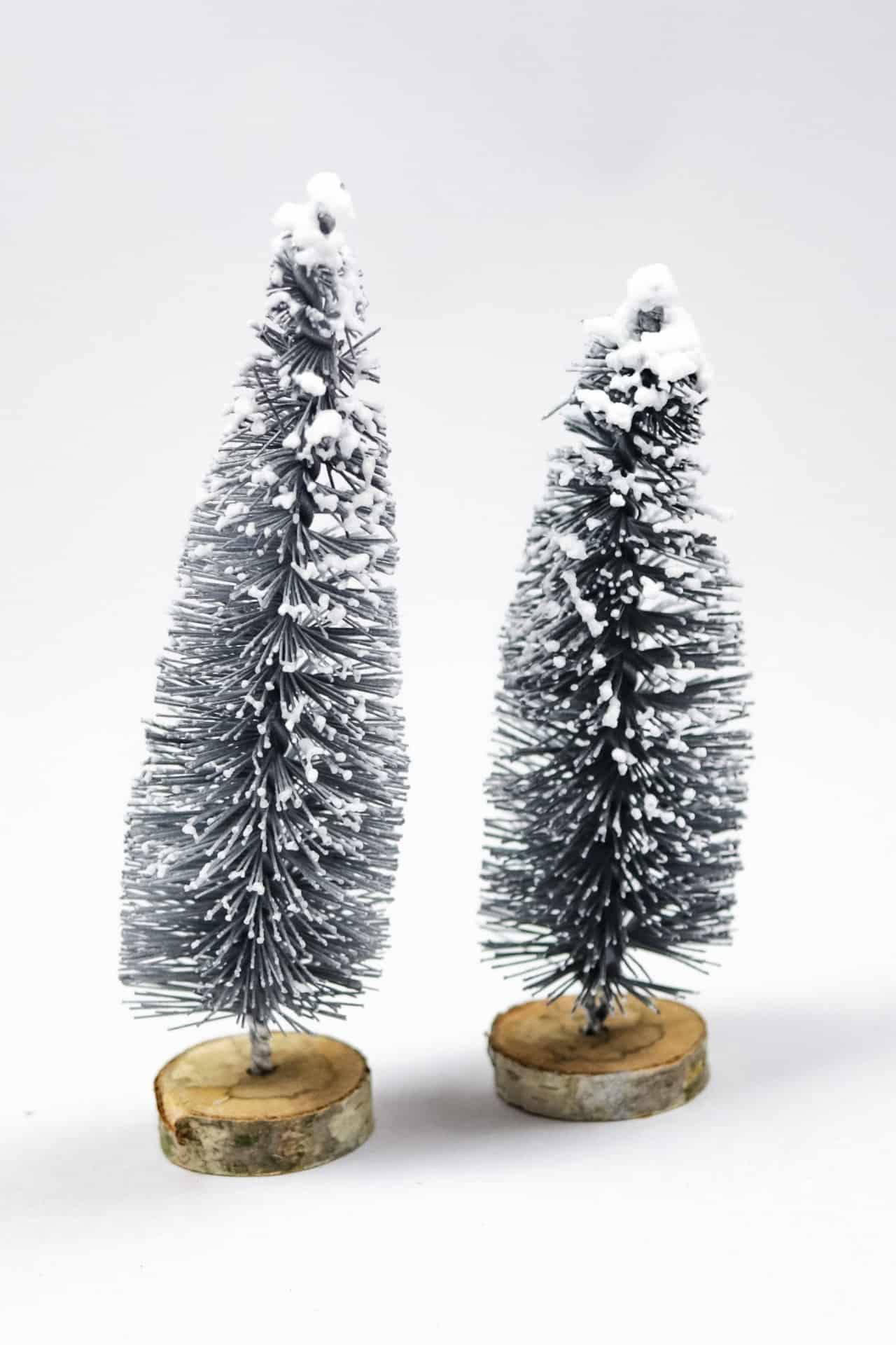 DIY Weihnachtsbaum aus Flaschenbürsten - Schritt 6   textilsucht.de