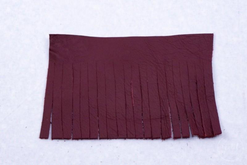 Turorial Lederquaste selber machen - Bild 2 | textilsucht.de