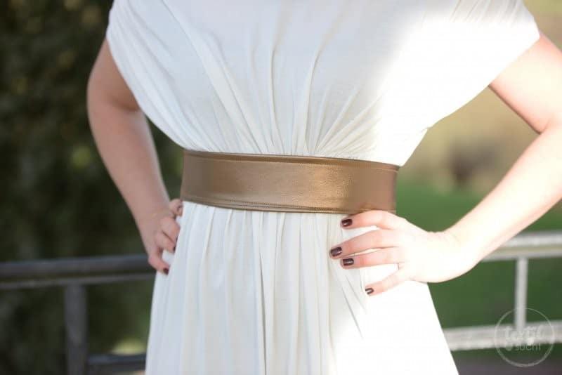 Griechische Göttin Kostüm selber nähen - Bild 9 | textilsucht.de