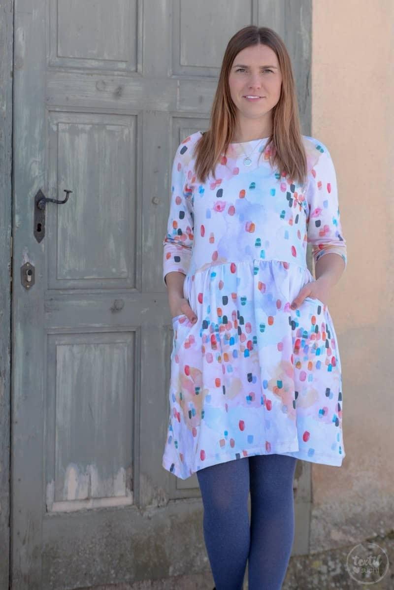 Schnittmuster Kleid Annedore mit Taschen - Bild 1 | textilsucht.de