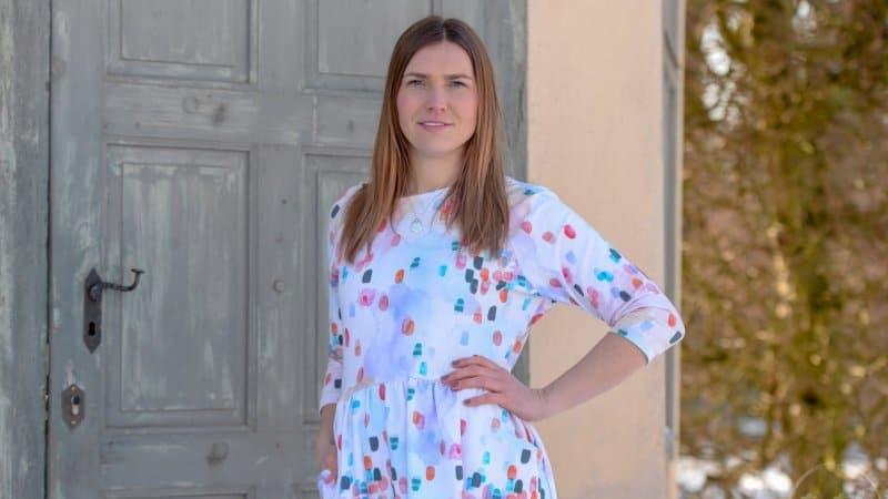 Schnittmuster Kleid Annedore mit Taschen - Bild 2 | textilsucht.de