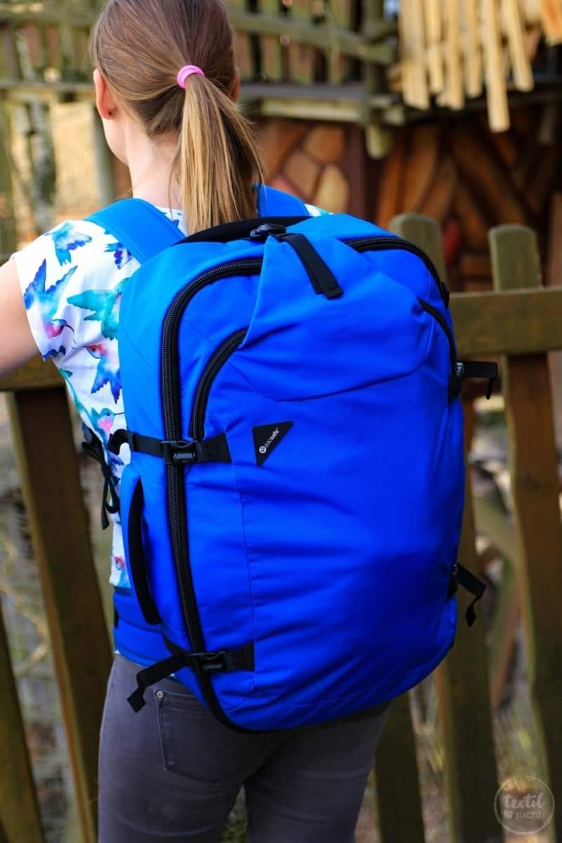 Mehr Freiheit auf Reisen - der Venturesafe EXP45 von PACSAFE® - Bild 7 | textilsucht