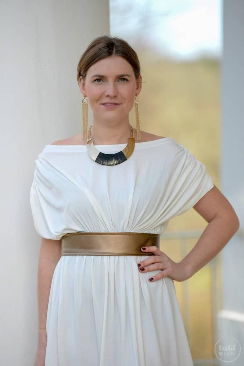 Griechische Göttin Kostüm selber nähen - Bild 6 | textilsucht.de