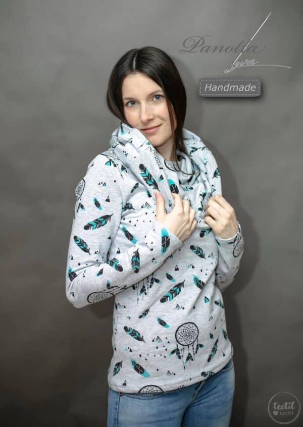 Schnittmuster Kragen Shirt Anjuta von textilsucht