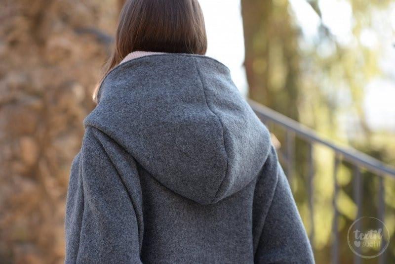Schnittmuster Oversizejacke Mikala aus Wollwalk - Bild 6 | textilsucht