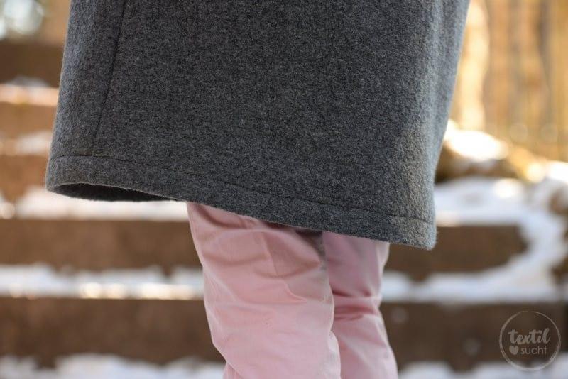 Schnittmuster Oversizejacke Mikala aus Wollwalk - Bild 7 | textilsucht