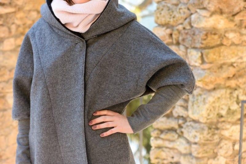 Schnittmuster Oversizejacke Mikala aus Wollwalk - Bild 9 | textilsucht