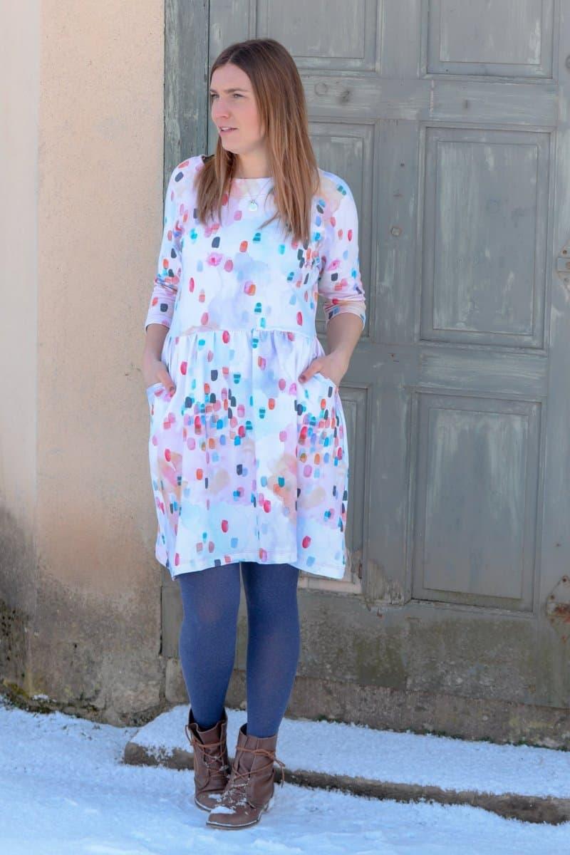 Schnittmuster Kleid Annedore mit Taschen - Bild 6 | textilsucht.de
