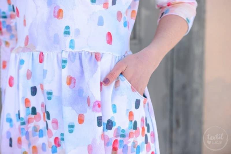 Schnittmuster Kleid Annedore mit Taschen - Bild 7 | textilsucht.de