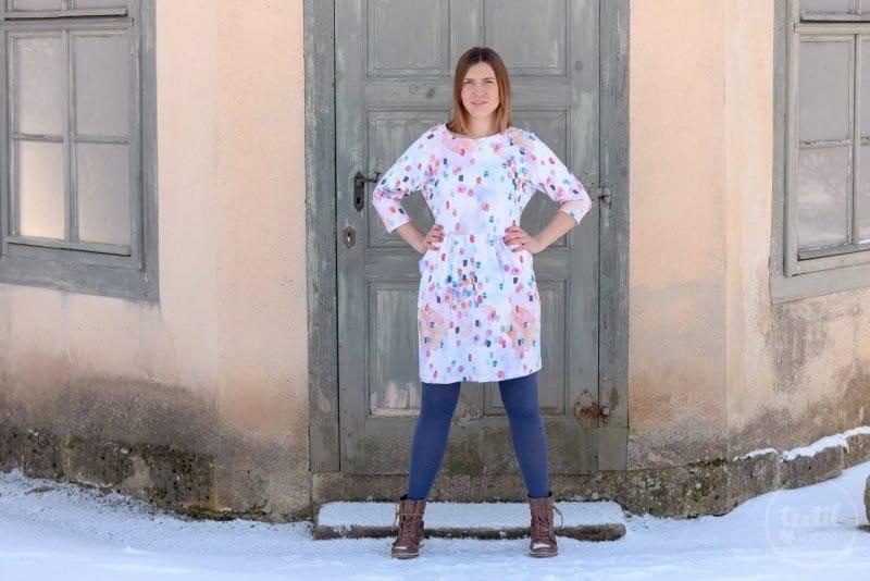 Schnittmuster Kleid Annedore mit Taschen - Bild 3 | textilsucht.de
