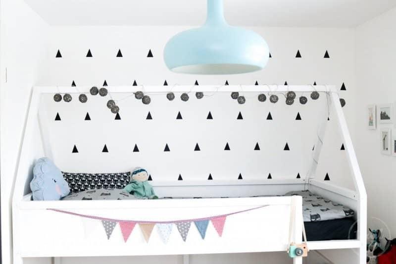 Ikea Kura Haus-Hochbett Bauanleitung und ein paar tolle Ideen für's Kinderzimmer