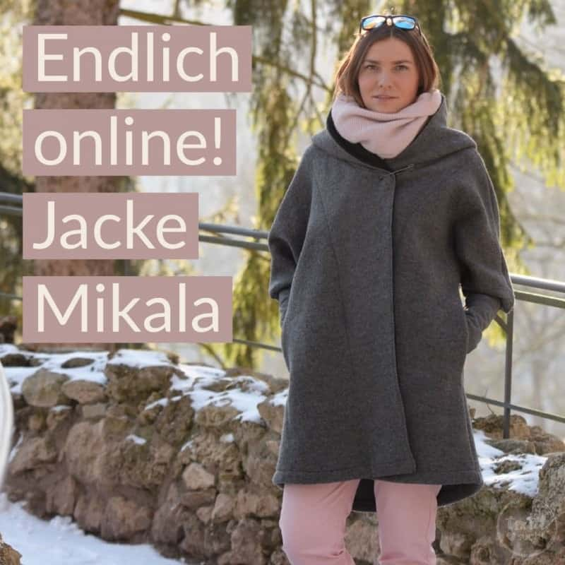 Schnittmuster Jacke Mikala ist online!