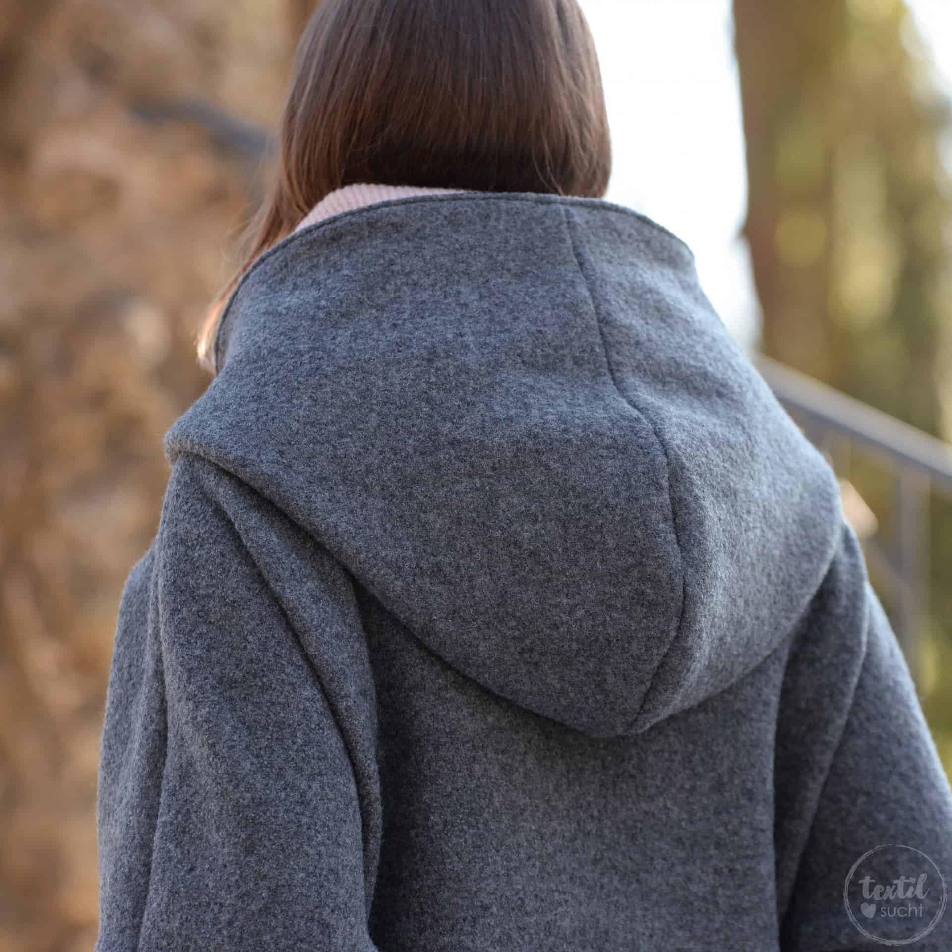 Schnittmuster Jacke Mikala - inkl. Nähanleitung » Textilsucht®