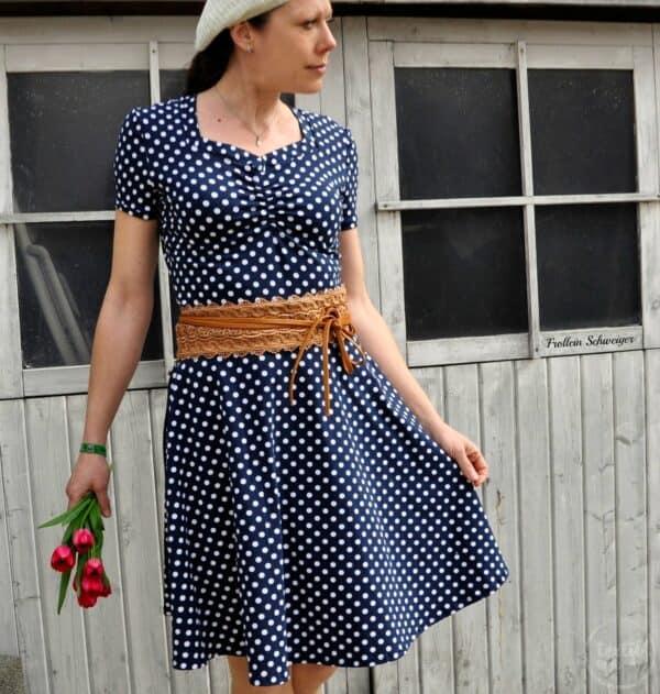Schnittmuster Kleid Cariba von textilsucht