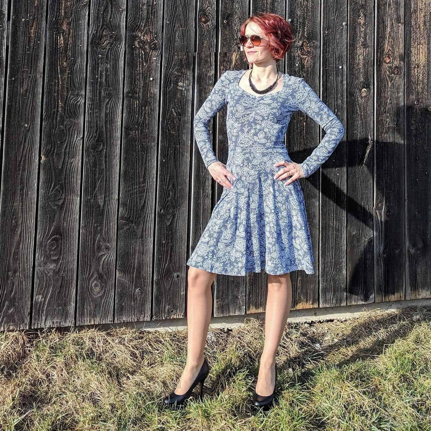 Schnittmuster Kleid Cariba - inkl. Nähanleitung » Textilsucht®