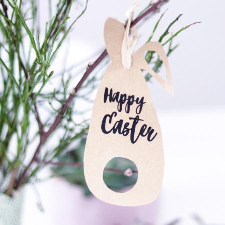 Happy Easter - Plotterdatei und Druckvorlage