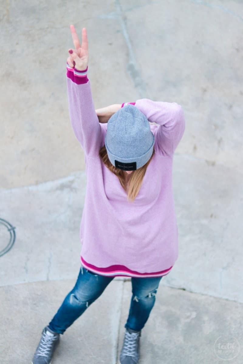Neues Schnittmuster: Longshirt Rania mit Rückenausschnitt - Bild 7 | textilsucht.de