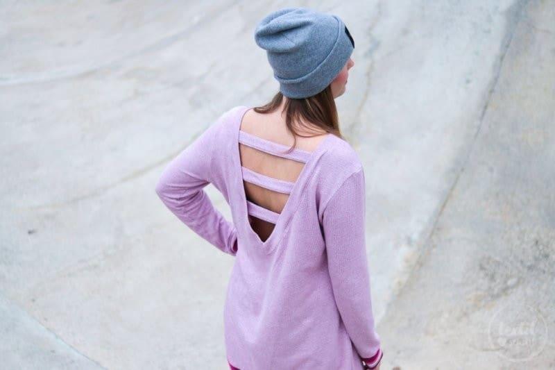Neues Schnittmuster: Longshirt Rania mit Rückenausschnitt - Bild 8 | textilsucht.de