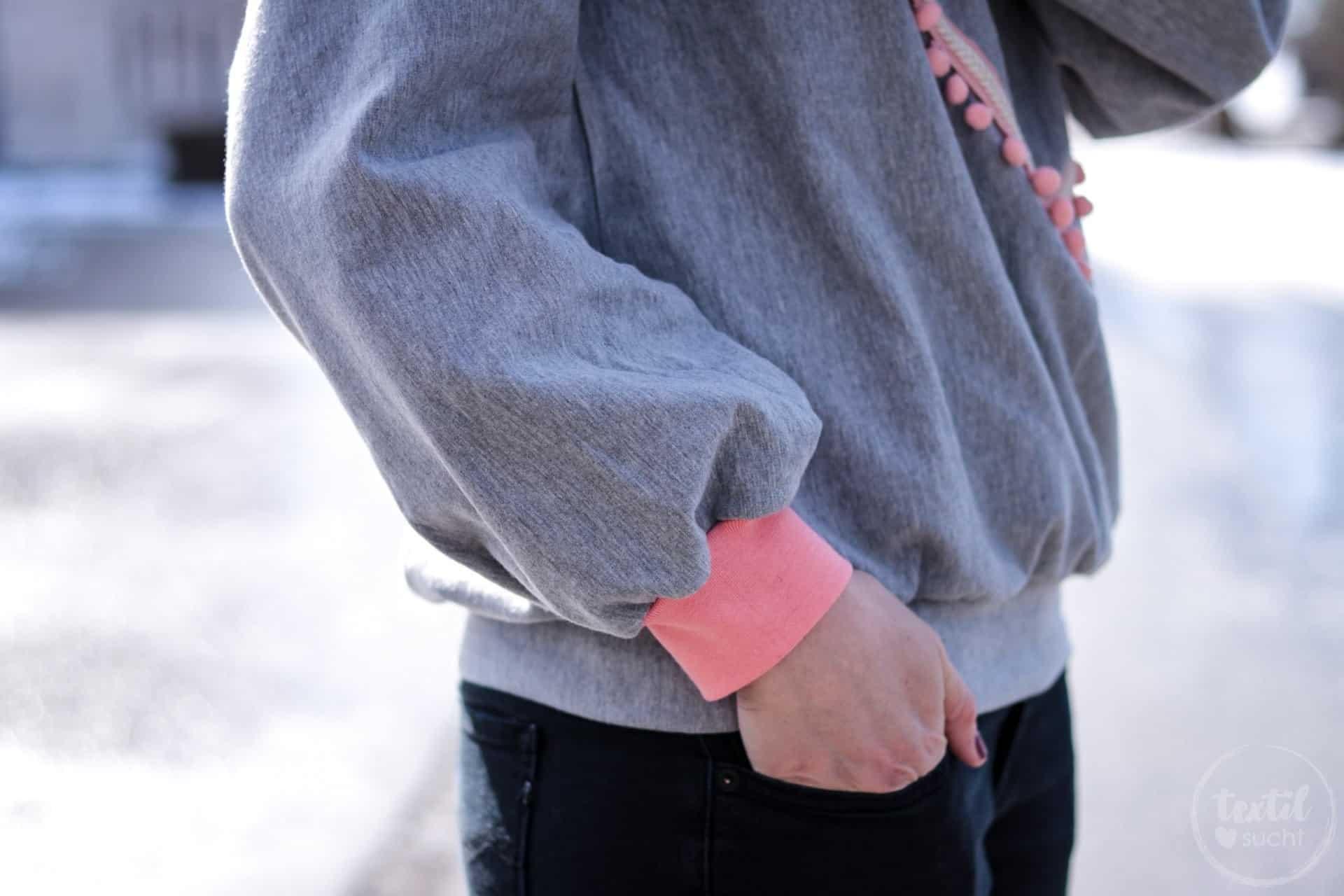 Neues Schnittmuster - Oversize Sweater India - Bild 3 | textilsucht.de